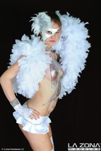 La Zona: Ashton - Sexy Teen Body Paint and Cosplay