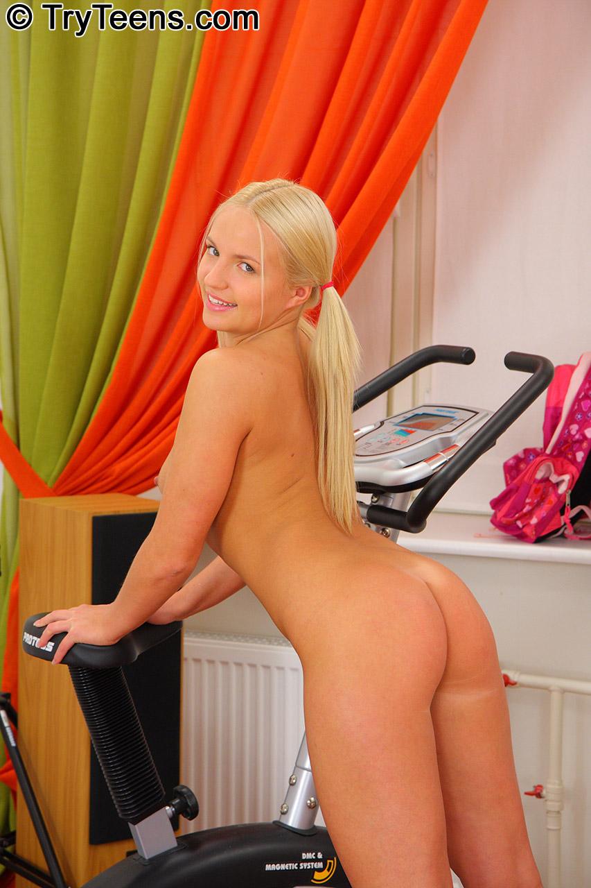 German Wife Blonde Anal